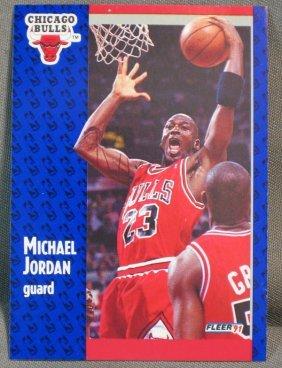 020440 Basketball Cards Michael Jordan M Johnson Lot