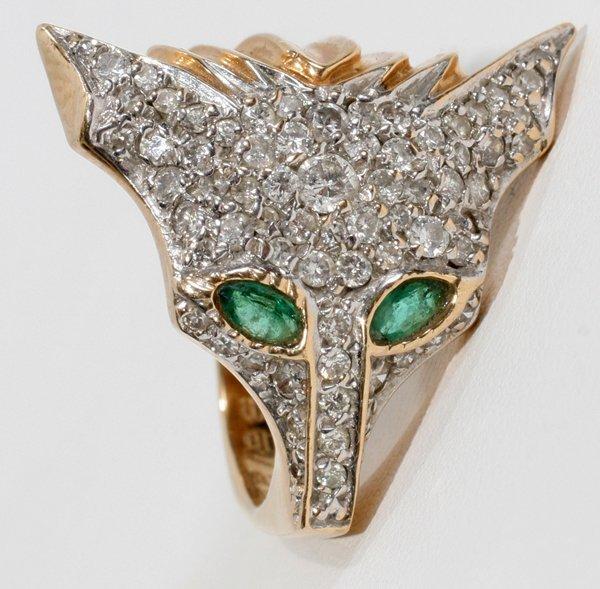 Erte Fox Ring