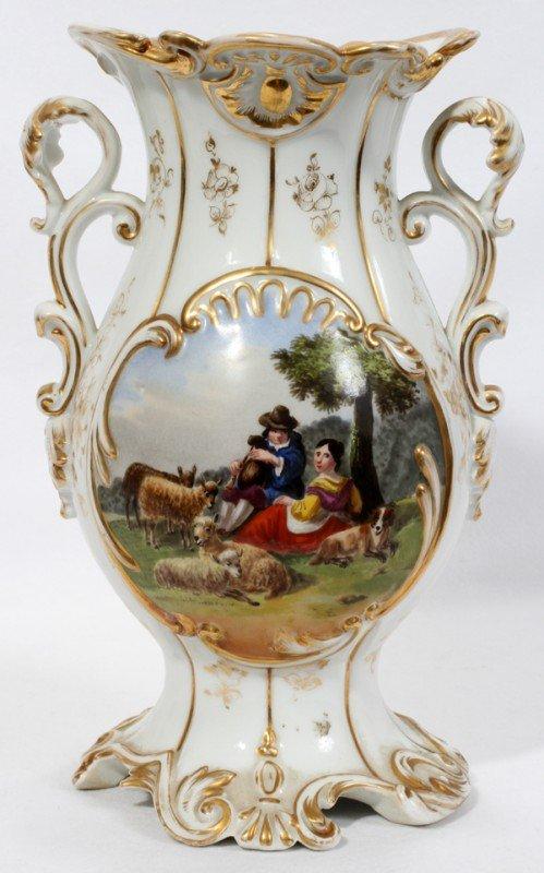 041286 jacques petit french porcelain urn c 1820 lot for Set petit dejeuner porcelaine