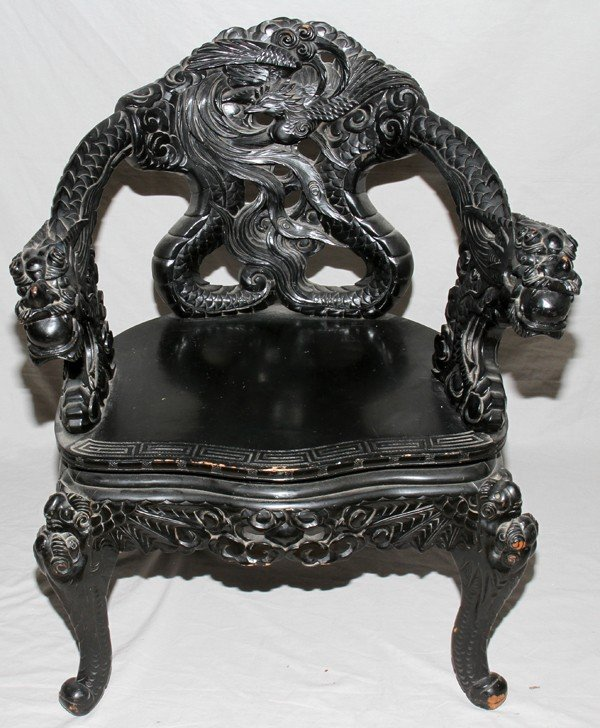 I have a dragon chair that looks to be a chippendale design for Meuble chippendale