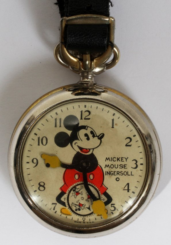 110236 ingersoll mickey mouse pocket c1930 s lot