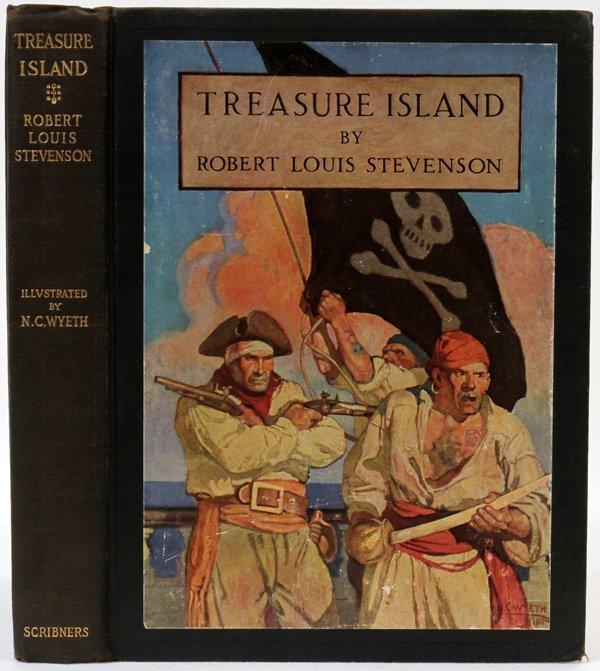 an analysis of treasure island by robert louis stevenson