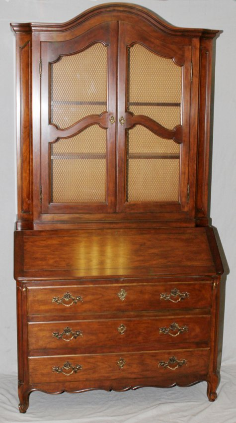 Baker Furniture Co Cherry Slant Front Secretary Lot 91263