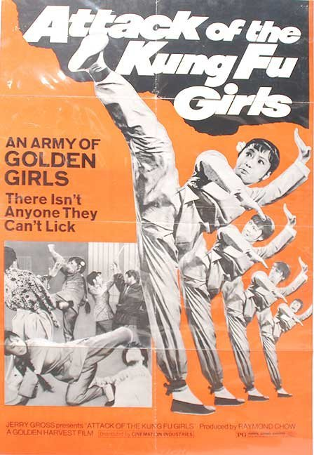 Kung fu girls movie