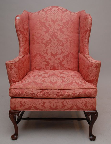 Antique Queen Anne Wing Chair   Queen Anne Chair Images   Antique Queen Anne  Wingback ChairAntique Queen Anne Wingback Chair   Antique Furniture. Antique Queen Anne Upholstered Chairs. Home Design Ideas
