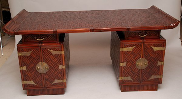 88 asian style partners desk by maitland glascoe lon for Asian inspired desk