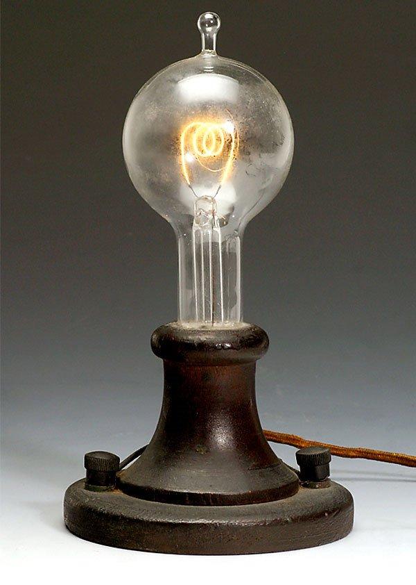 first light bulb thomas edison bing images. Black Bedroom Furniture Sets. Home Design Ideas