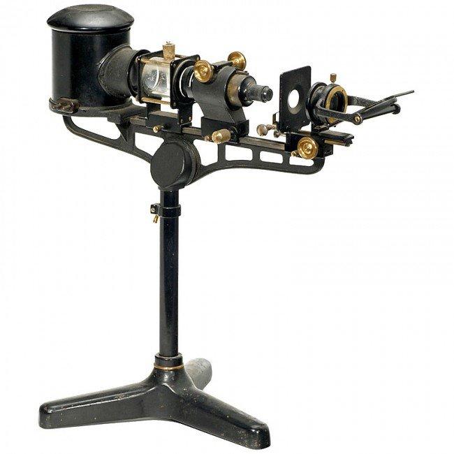 215 precision micro projector c 1925 lot 215 for Mirror micro projector