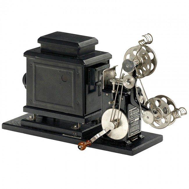 541 Edison Home Kinetoscope C 1912 Lot 541