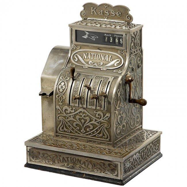 17 national cash register model 672 c 1908 lot 17 for Dekor international pt