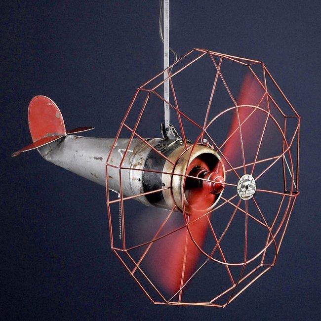 115 Ceiling Fan Dallas Airplane Fan C 1940 Lot 115