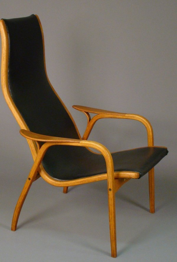 "2097 Yngve Ekstrom Swedese""Lamino"" lounge chair, t Lot 2097"