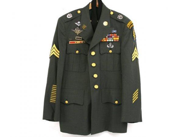 Army Dress Uniform Green 86