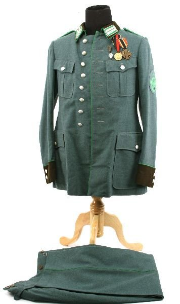 THIRD REICH PROTECTION POLICE OFFICERS UNIFORM : Lot 70124