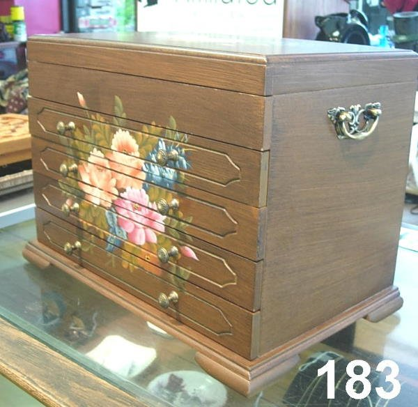 30183 jewelry box thomas pacconi classics floral lot 30183