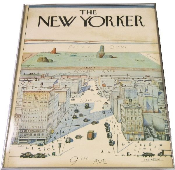 Lot of 25 The NEW YORKER Magazine covers 1963-1977