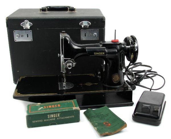 singer 221 sewing machine
