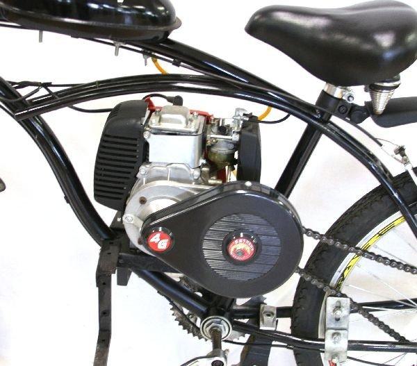 Custom Built Motorized Bicycle W Skyhawk Kit Lot 4358