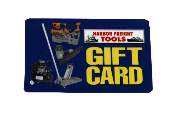 Buy a Harbor Freight Tools Gift Card (5 stars) 26 ratings Granny is the largest website for discount gift cards, gathering all of the best Harbor Freight Tools gift card discounts, in real time.5/5(26).