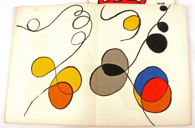 Calder derriere le miroir 173 212 lithographs lot 3232 for Calder derriere le miroir