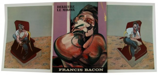 Francis bacon derriere le miroir 162 lithos lot 3234 for Derriere le miroir