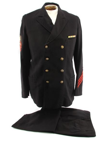 WWI US NAVY CPO TORPEDOMAN UNIFORM MEXICAN BOARDER