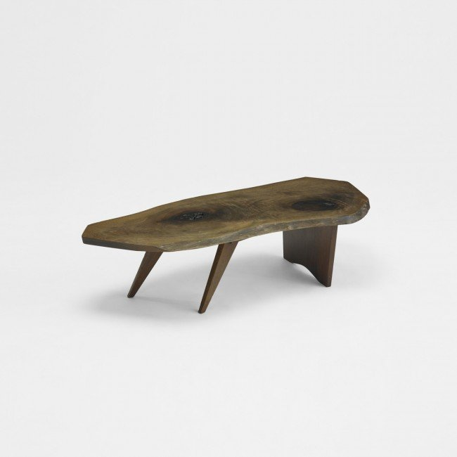 231 George Nakashima Conoid Coffee Table Lot 231