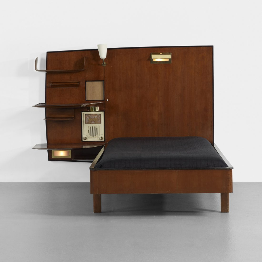 Naples Bedroom Furniture Gio Ponti Bed From The Royal Hotel Naples Giordano Chiesa Italy