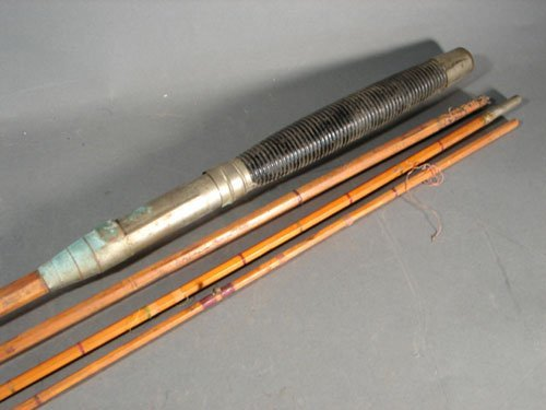 306 antique bamboo fly fishing rod maker unknown thi for Antique bamboo fishing rods