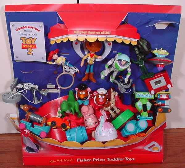 15 McDonaldu0026#39;s Toy Story 2 Happy Meal Collectibles Stor  Lot 15