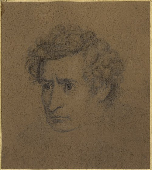 2737: Blum, Carl: Bleistift-Porträt Ludwig Devrient : Lot 2737