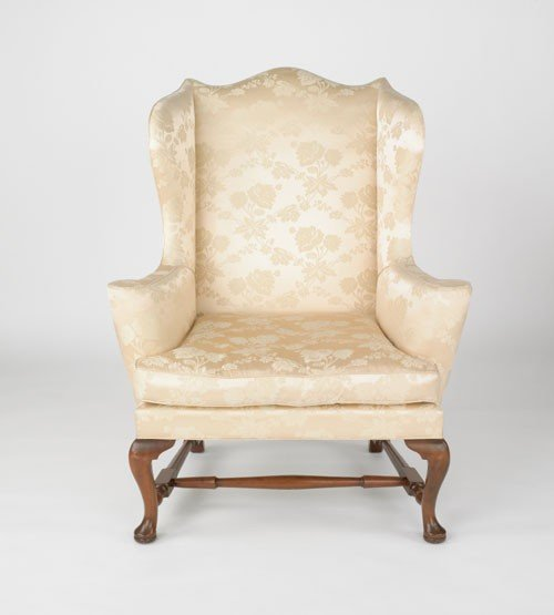 753 Kittinger Queen Anne wing chair Lot 753