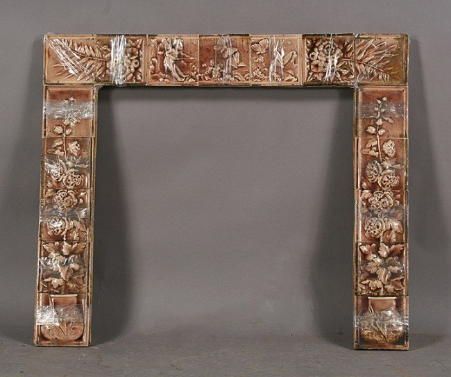 Antique Fireplace Tiles On Pinterest Fireplace Surrounds Google And Tile