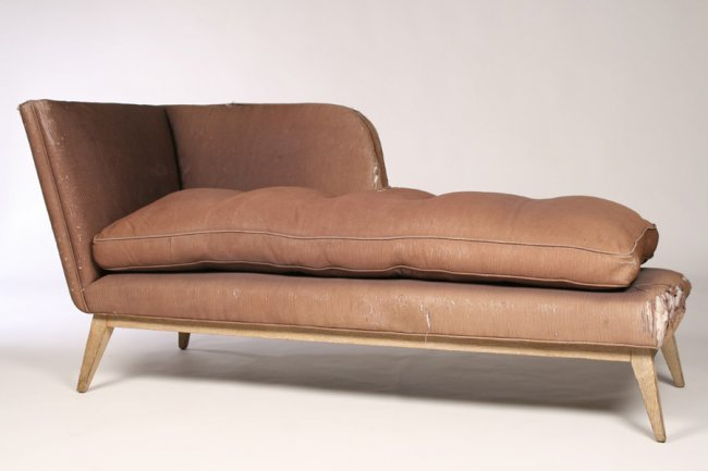 Mid century modern chaise lounge circa 1950 lot 814 for 1950s chaise lounge