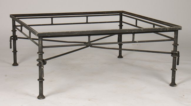 Wrought Iron Coffee Table Base Giacometti Style Lot 663