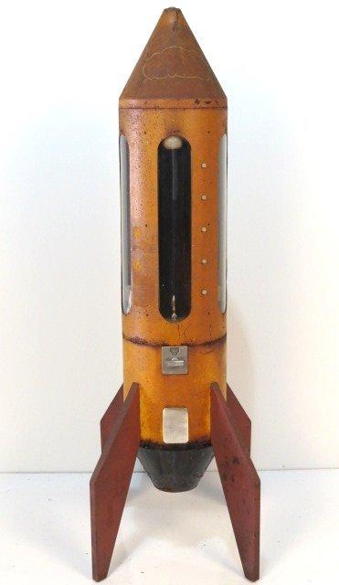 rocket ship gumball machine