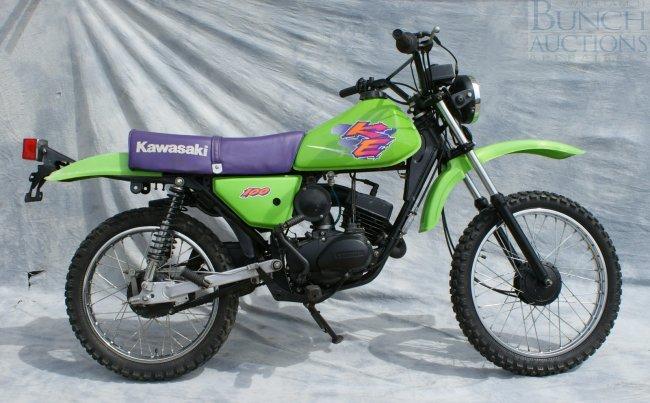 Rebuilt Title Kawasaki