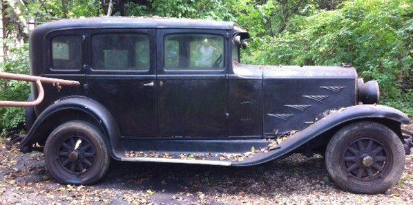 1930 chrysler model 70 4 door sedan lot 9200a for 1930 model a 4 door sedan