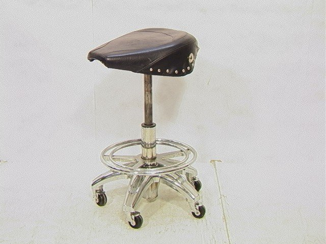 430 Motorcycle Seat Bar Stool Contemporary Productio