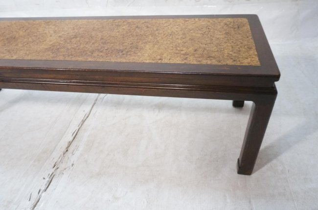 Dunbar Cork Top Coffee Table Brown Painted Wood Lot 68