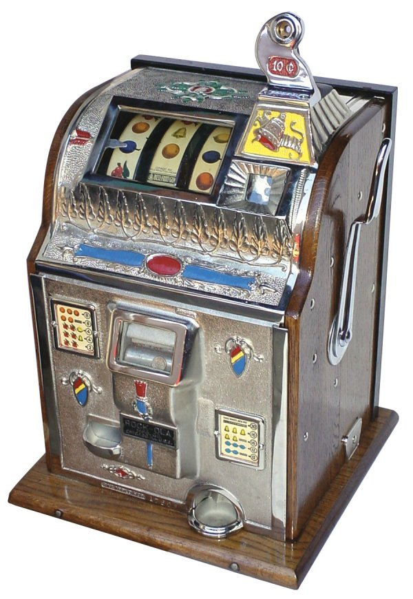 coin operated slot machine