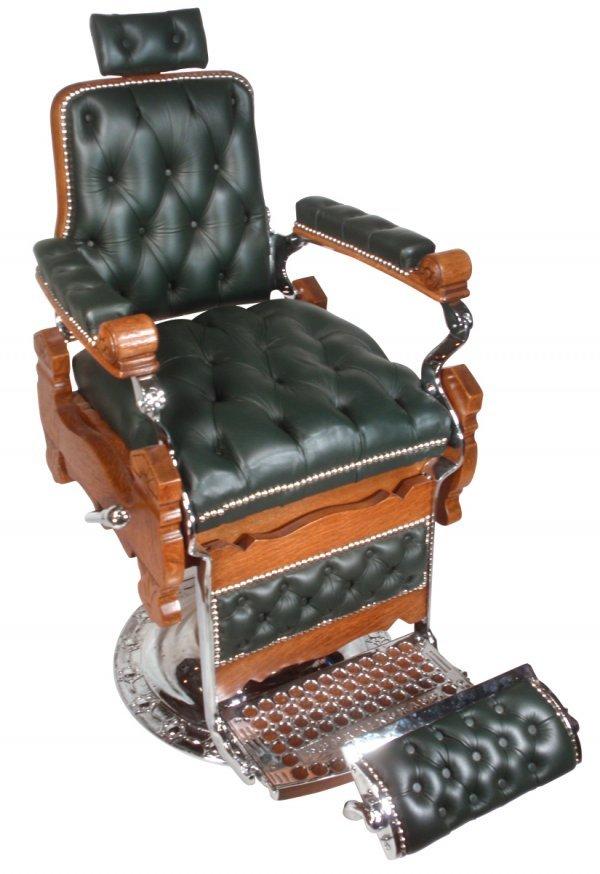 0767 Barber Chair Mfgd By Eugene Berninghaus Cincinna Lot 767