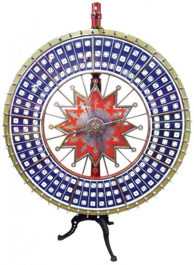 Evans gambling wheel