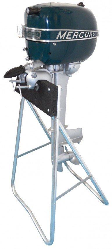 0249 Boat Outboard Motor W Stand Mercury Ke4 Rocket D