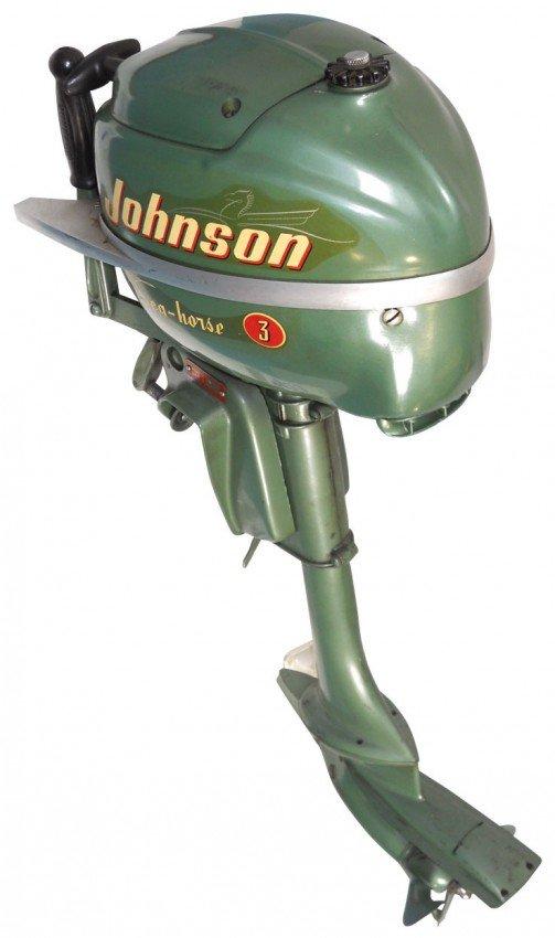 0429 Boat Outboard Motor Johnson Sea Horse 3