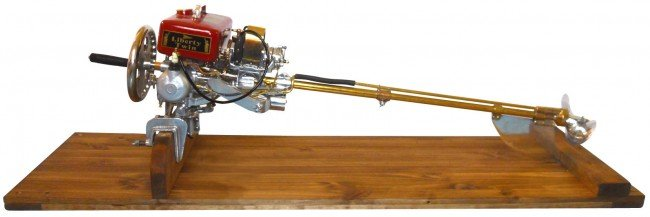 how to make outboard motor stands with wood