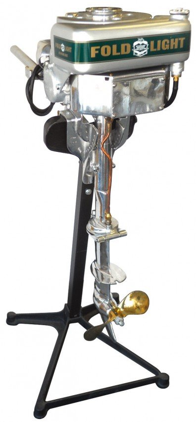 0969 Boat Outboard Motor W Stand Super Elto