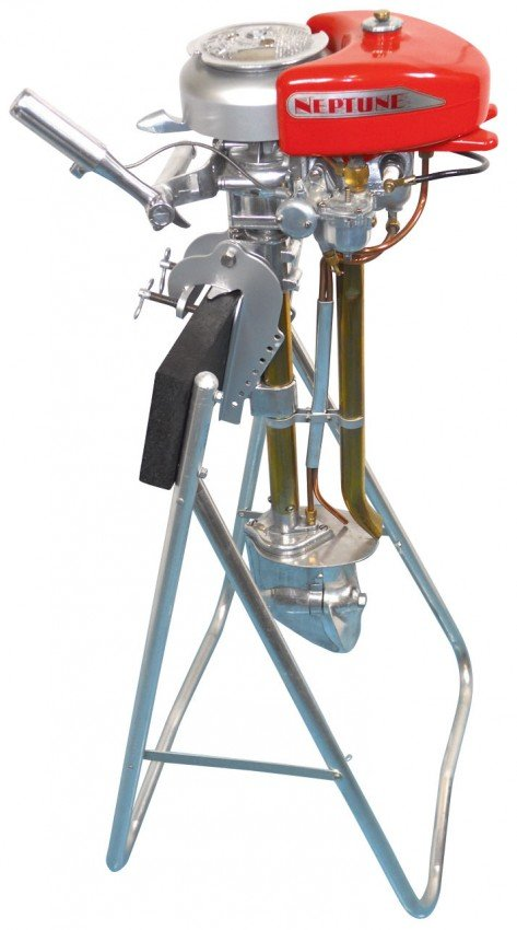 1031 Boat Outboard Motor W Stand Neptune Single Model