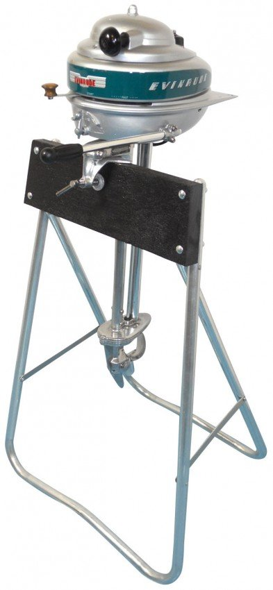 1032 Boat Outboard Motor W Stand Evinrude Ranger C 1
