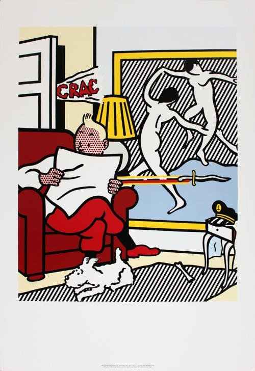 301 moved permanently for Poster roy lichtenstein